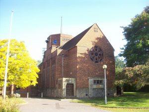 Paddock Wood Church in Kent